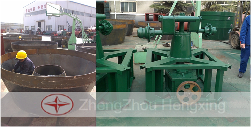 Wet Pan Mill For Gold Selection